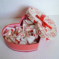 """Подарок из конфет """"Сердце для любимой"""""""