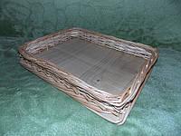 Лоток для продтоваров из лозы, фото 1