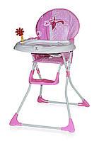 Детский стульчик для кормления Bertoni Jolly Pink Rabbits