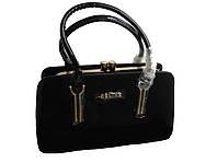 Лаковая сумочка Celine (черная)