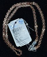 Серебряная Цепочка БИСМАРК 925 с Позолотой 585