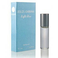 Масляный мини парфюм для женщин Dolce & Gabbana Light Blue (Дольче Габбана Лайт Блю) 7 мл
