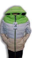 Куртка женская горнолыжная WHS. Трехцветная. 7759601
