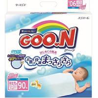 Подгузники GOO.N для новорожденных до 5 кг (размер SS, на липучках, унисекс,  90 шт)