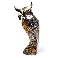 """Сувенирная сова """"Благосостояние""""из разных материалов  LHS1139"""