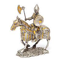 """Игрушечные солдатики """"Средневековый рыцарь и конь"""" HHSF008"""