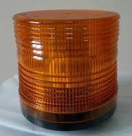 Мигалка 24В светодиодная желтого цвета стробоскопная