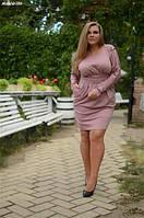 Женское платье полу батал  , фото 1