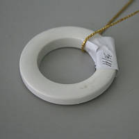 Люверсы круглые пластик белый 36мм