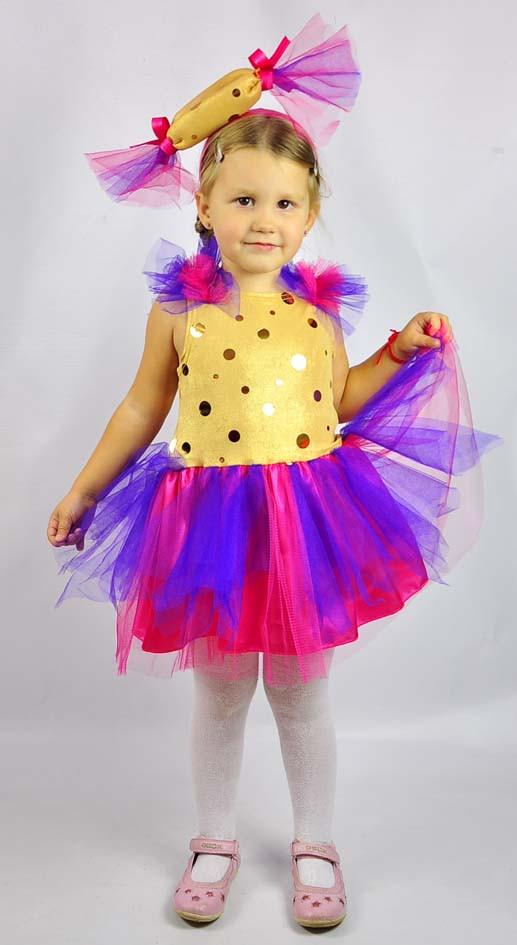 Карнавальный костюм для девочки конфетка своими руками - Cvety-iren.ru