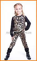 Кофты кардиганы для девочек | Детская леопардовая кофта для девочек