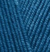 Пряжа для ручного вязания  Alize Lanagold (шерсть+акрил) синий джинс