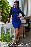 Платье облегающее короткое