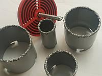 Набор корончатых сверл для плитки InterTool  с вольфрамовым напылением