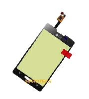 Сенсор (тачскрин) LG E440 Optimus II Dual Black Orig