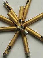 Сверла корончатые , с алмазным напылением по стеклу , керамике 8 мм ( Украина)