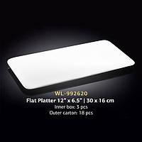 Блюдо плоское прямоугольное 30х16 см (Wilmax) WL-992620