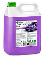GRASS Авто шампунь для бесконтактной мойки авто Active Foam Gel Plus 6 kg.