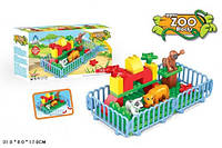 Конструктор  Happy Zoo Blocks