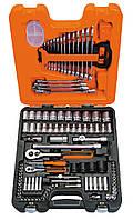 Набор торцевых головок и комбинированных гаечных ключей 1/4 и 1/2, 108 предметов, BAHCO S108