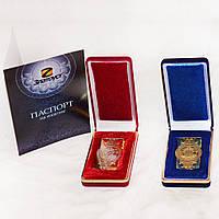 Зажим для денег с гербом Украины. VIP сувенир для мужчины