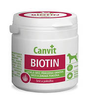 Canvit Biotin Канвит Биотин здоровье кожи и блестящая шерсть у собак на каждый день 230 г