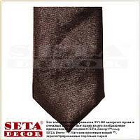 Коричневый галстук классика узкий 5 см.Продажа и прокат.