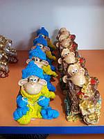 Патриотическая обезьянка-сувенир