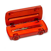 Оригинальная подарочная ручка в виде модели ретро автомобиля из дерева Albero Ode 663S269