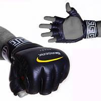 Перчатки для смешанных единоборств 4 oz LEGACY black