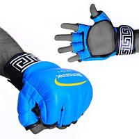 Перчатки для смешанных единоборств 4 oz LEGACY blu