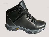 Ботинки Зимние  кожаные подросток