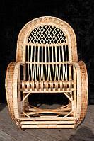 Кресло-качалка из лозы королевская