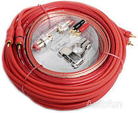 Набор кабелей для подключения автоусилителя Autofun AMP KIT 8S Economy