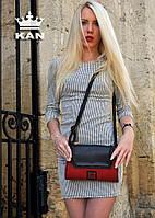 Женская сумочка из натуральной кожи ZHS192105 ручной работы