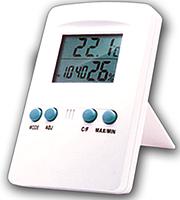 Показывает температуру и влажность -Цифровой термогигрометр Т - 01