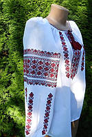Українська вишиванка на домотканному полотні ручної роботи