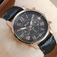 Часы женские наручные Geneva Gold/Black