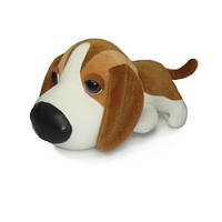 Мягкая игрушка музыкальная Собачка смешная большая 16 см