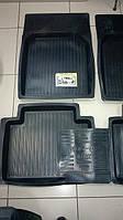 """Коврики автомобильные для Lada (ВАЗ 2101-07 классика), резиновые с бортами """"Люкс"""""""