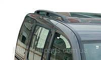 Рейлинги чёрные Fiat Doblo 2001- Комплект 2 шт