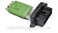 Резистор управления вентилятора печки Fiat Doblo. Для автомобилей без кондиционера.