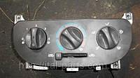 Блок управления печкой Fiat Doblo. Запчасть Б/У. Для автомобилей оснащёных кондиционером.