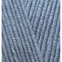 Пряжа для вязания НЬЮ МАСТЕР Италия цвет голубой джинс 32