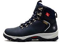 Кроссовки зимние BaaS, унисекс, высокие, темно-синие, фото 1