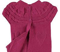 Детская кофточка-безрукавка (болеро) для девочки, вязанная, на возраст 1,5-2 года
