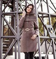 Демисезонное женское пальто, плащ 44-54 р-р