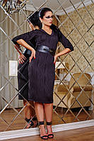 Платье черное Лаванда В1 Медини 42-44 размер