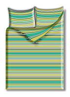 Двухспальный комплект постельного белья бязь полиэстер Полоса
