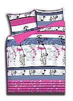 Двухспальный комплект постельного белья бязь полиэстер Шанхай